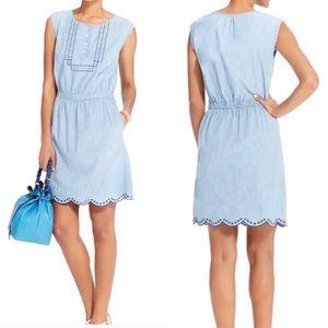 Tommy Hilfiger chambray cotton dress, size XL
